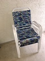 Outdoor Patio Lawn Chairs (Set of 4) in Camp Pendleton, California