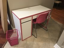 Girls IKEA desk, chair and accessories in Baytown, Texas