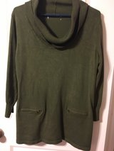 olive color sweater in The Woodlands, Texas