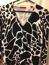 Cow print sweater in Conroe, Texas