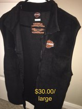 Harley Davidson vest in The Woodlands, Texas