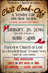 Chili Cook-Off & Food Drive in Hampton, Virginia