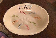 Stoneware Cat Dish in Yorkville, Illinois