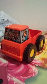 Vintage 1970s Tupperware toys truck in Byron, Georgia