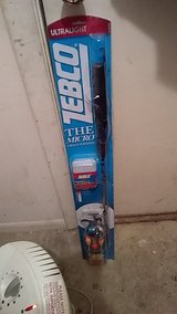 Zebco ultralight fishing pole and tackle box in Warner Robins, Georgia