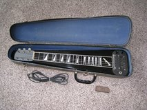 Vintage Airline Lap Steel Guitar with Waverly Slide - Made by Valco in Plainfield, Illinois