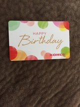Kohl's card $40 in Aurora, Illinois