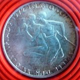 1972 D Silver 10 Mark (Basketball & Rowing) in Ramstein, Germany