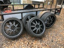 """22""""rims and new tires in Houston, Texas"""