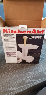 Kitchen Aid Pasta Maker & Food Grinder New in The Woodlands, Texas