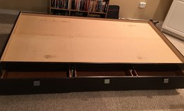 Bed frame and dresser in Plainfield, Illinois