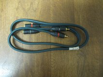 Two ProLink 3 foot Audio Cables in Houston, Texas