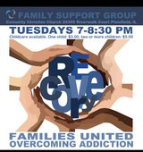 Families United Overcoming Addiction Support Group in Joliet, Illinois