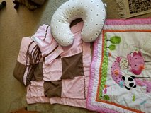 Crib baby girl  bedding set in Leesville, Louisiana