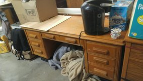 Old solid wood Desk in Lawton, Oklahoma