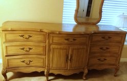 French Provincial Long dresser Vintage in Schaumburg, Illinois