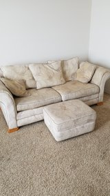 Free couch and ottoman in Belleville, Illinois