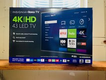 "Insignia™ - 43"" Class - LED - 2160p - Smart - 4K UHD TV with HDR Roku TV WITH 5 YEAR GEEK SQUAD ... in Yorkville, Illinois"