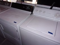Whirlpool Washer and Hotpoint Dryer in Fort Riley, Kansas