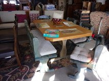 Large Bench Style Table Set in Fort Riley, Kansas