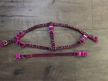 Dog collar and harness set sz sm, up to 20 lbs in Joliet, Illinois