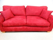 Red Velvet Couch in League City, Texas