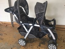 Chicco Double stroller in Bolingbrook, Illinois