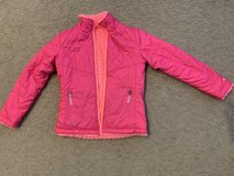 Girls C9 Pink Reversible Jacket...size m (7-8) in Yorkville, Illinois