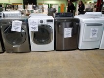 washer dryer for sale Lg and frigidaire scratch dent in Orland Park, Illinois