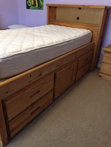 TWIN Solid Wood Captains Bed in Baytown, Texas