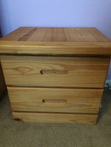 Solid Wood Nightstand in Baytown, Texas