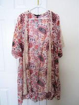 Floral Lace Kimono - XS, Runs Large in Fairfax, Virginia