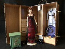 Franklin Mint Vinyl Rose Titanic Doll with Steamer Trunk Case in Chicago, Illinois