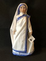 Mother Theresa Missionaries of Charity Nun Vinyl Doll in Chicago, Illinois