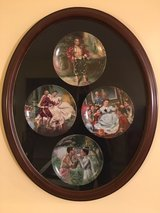 THE KING AND I - Complete Set of Collectors Plates with frame in Naperville, Illinois