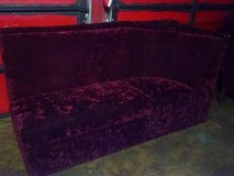 Maroon Couch in Baytown, Texas