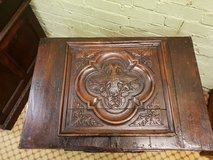 Highly Carved Trunk date approx 1820 in Lakenheath, UK
