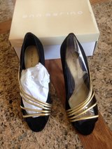 Black Shoes, NIB, Ann Marino, Size 7 in Pasadena, Texas