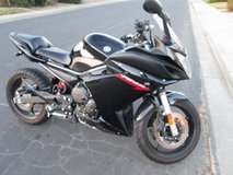 2011 Black Yamaha FZ6R - 600 cc - only 2000 miles in Fairfield, California