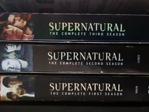Supernatural seasons 1-3 in Stuttgart, GE
