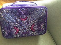 Vera Bradley NEW Lilac Tapestry Makeup/Toiletry Bag in Fairfax, Virginia