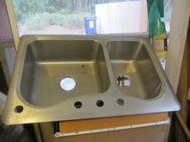 Double Stainless Steel Kitchen Sink in Beaufort, South Carolina
