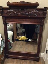 Walnut mirror in Conroe, Texas