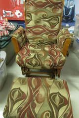 Glider/Rocker with footstool in Fort Campbell, Kentucky