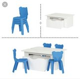 Activity Table and 4 chairs in Fairfield, California