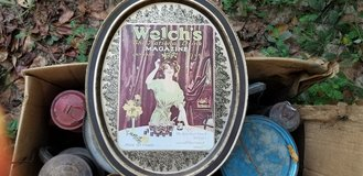 Antique Welches Tray in Byron, Georgia