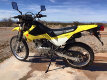 Suzuki DR 200S in Alamogordo, New Mexico