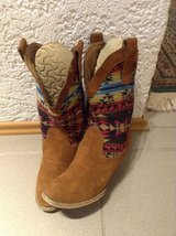 Boots, Cowgirl Stile, size 8.5 (used) REDUCED in Ramstein, Germany