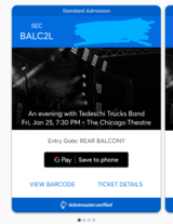 Tedeschi Trucks Band tickets in Aurora, Illinois