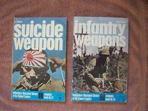 Military Books:  (1) Suicide Weapon and (2) Infantry Weapons in Wiesbaden, GE